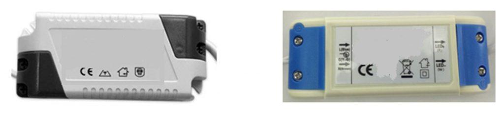 Ejemplos de drivers para alimentación de LED