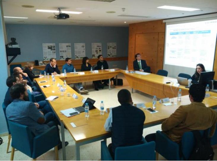 Reunión del Club de Estrategias del Hábitat en las instalaciones de AIDIMME.