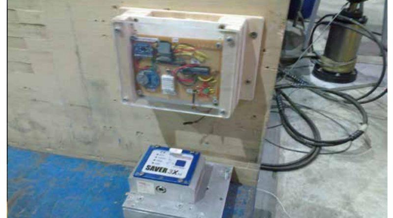 Ensayo de impacto horizontal del dispositivo de registro de datos de transporte desarrollado por AIDIMME