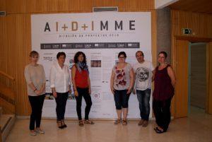Participantes del proyecto en las instalaciones de AIDIMME
