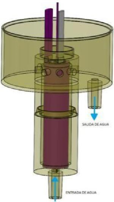Sistema electroquímico con electrodos tridimensionales