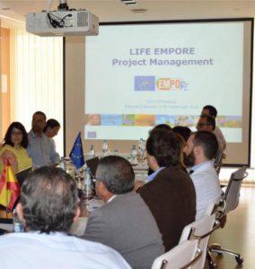 Primera reunión del proyecto europeo LIFE15-EMPORE