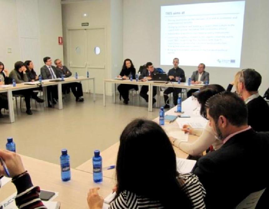 Segunda reunión del proyecto europeo TRIS (Transition Regions Towards Industrial Symbiosis) que se desarrolla en el marco de Interreg Europe