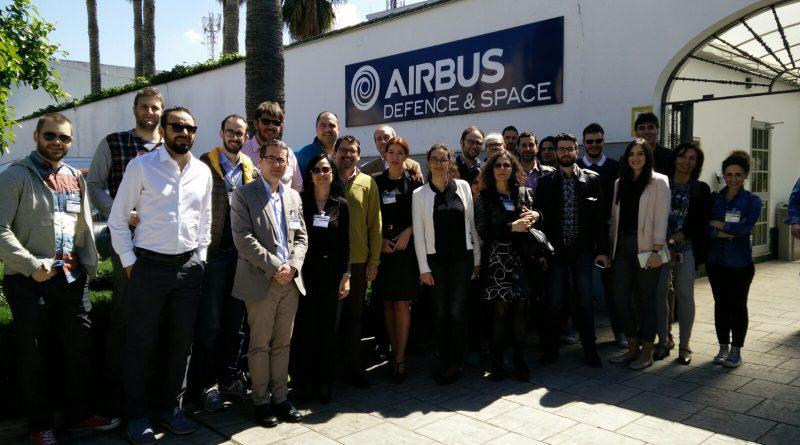Miembros del equipo Human en las instalaciones de AIRBUS