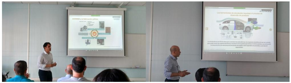 José Ramón Blasco Rble Nuevos Procesos de Fabricación y Luis Marín Rble Desarrollo Producto AIDIMME