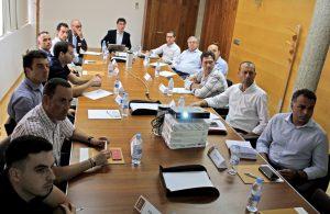 Imagen de la reunión del Club de Estrategias del Hábitat de julio de 2017.