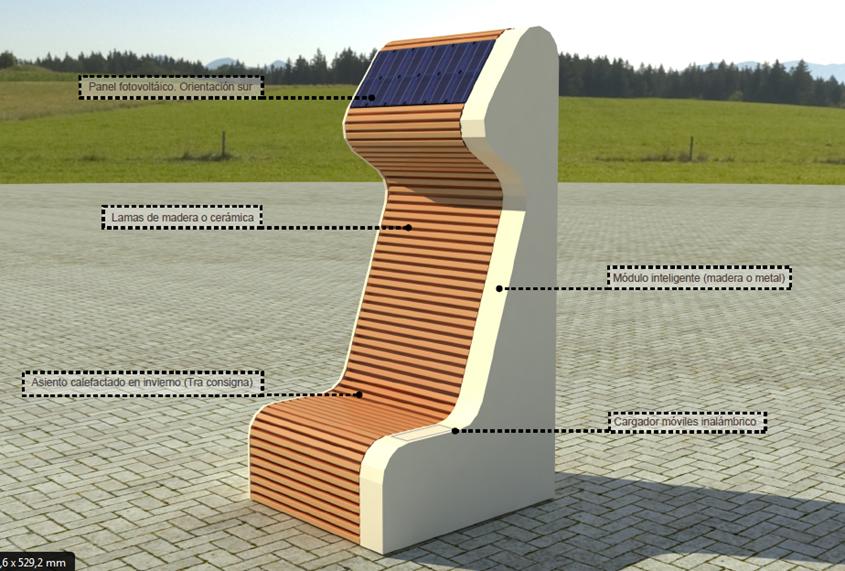Una de las versiones iniciales consideradas para el prototipo, que ha sido la base para el prototipo final que se desarrollará esta anualidad.