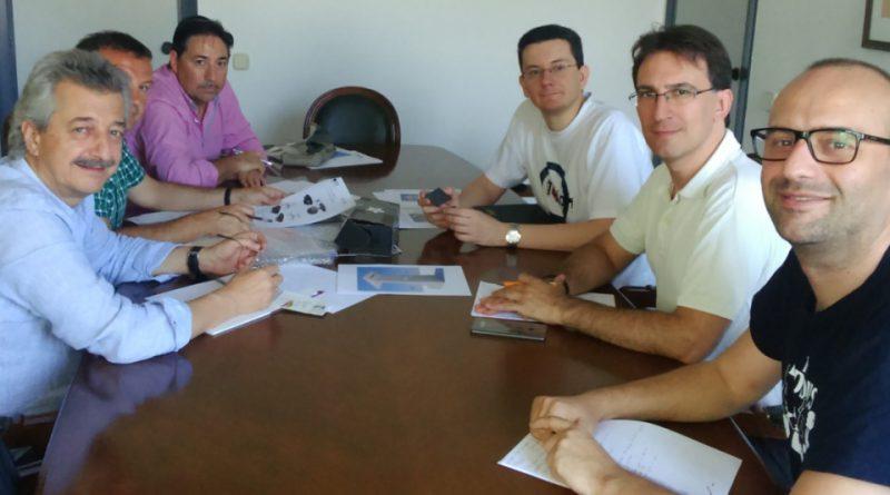 Reunión en AIDIMME del proyecto, con una empresa de estructuras.