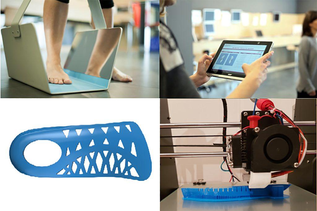 Escaneado, diseño e impresión de un producto personalizado