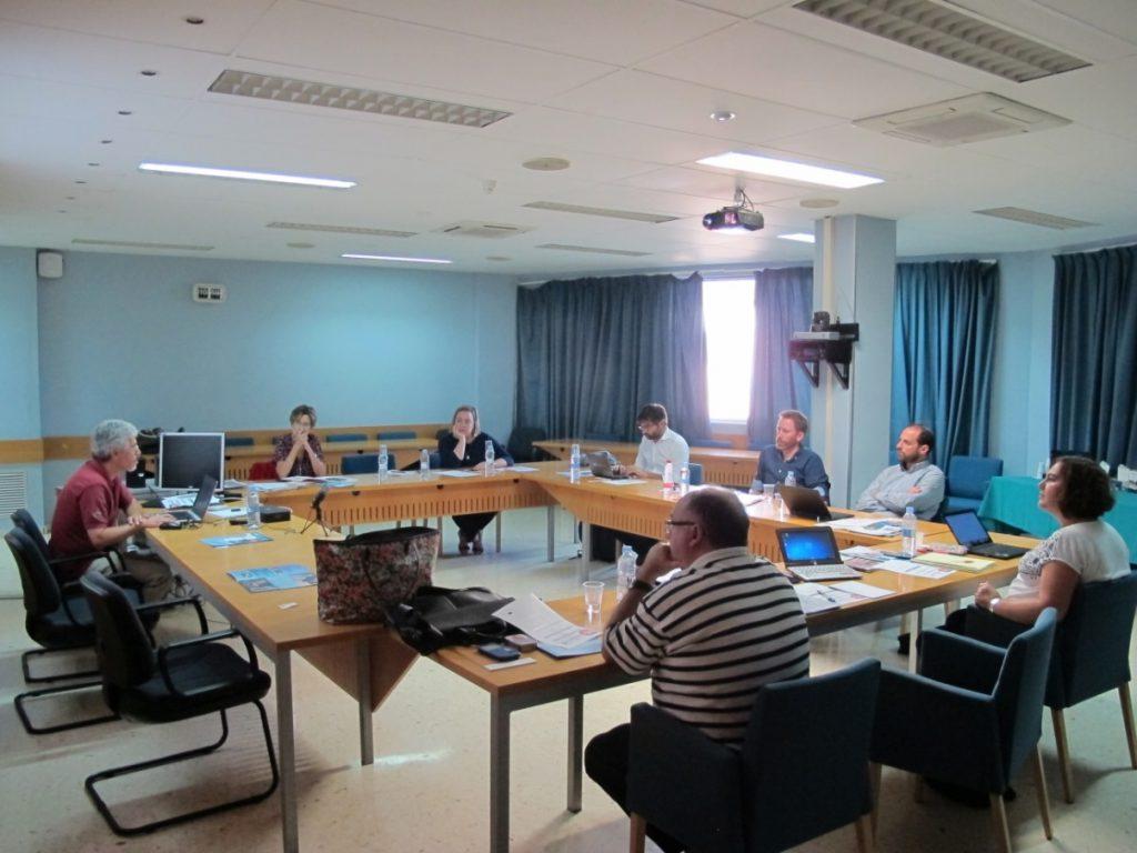 Socios del proyecto MIMwood en la primera reunión transnacional.