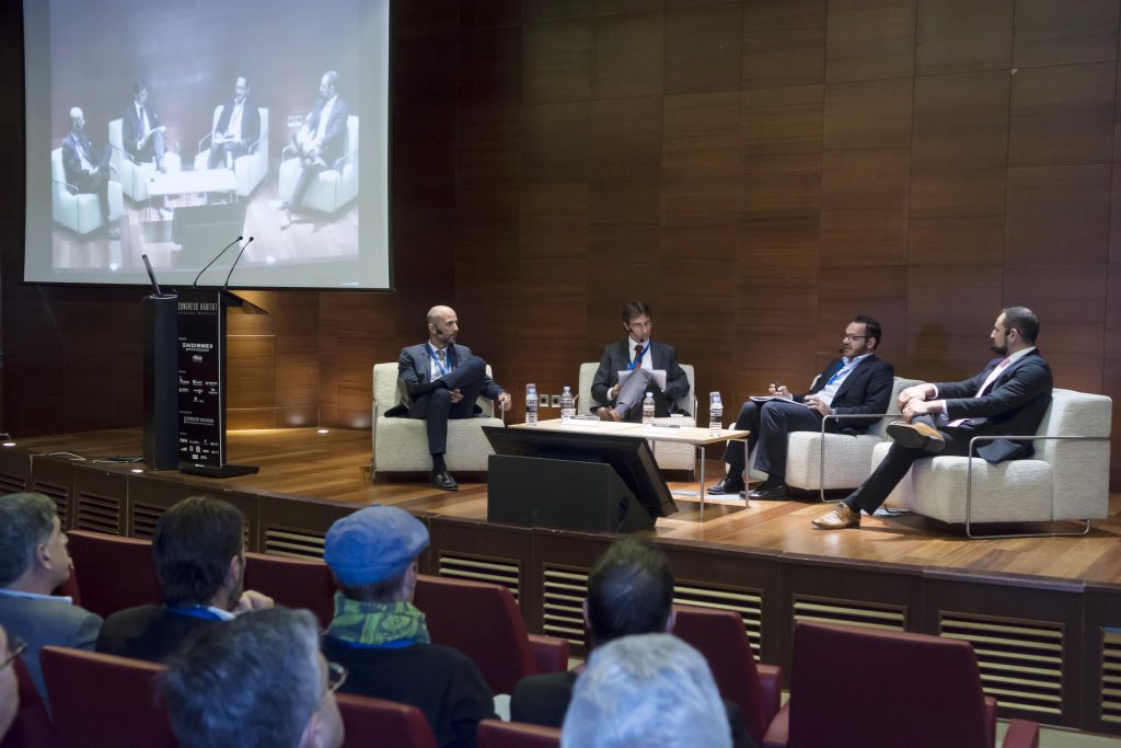 De dcha., a izda. Vicente Roselló, Vicente Sales, Raúl Royo y Jordi del Campo.
