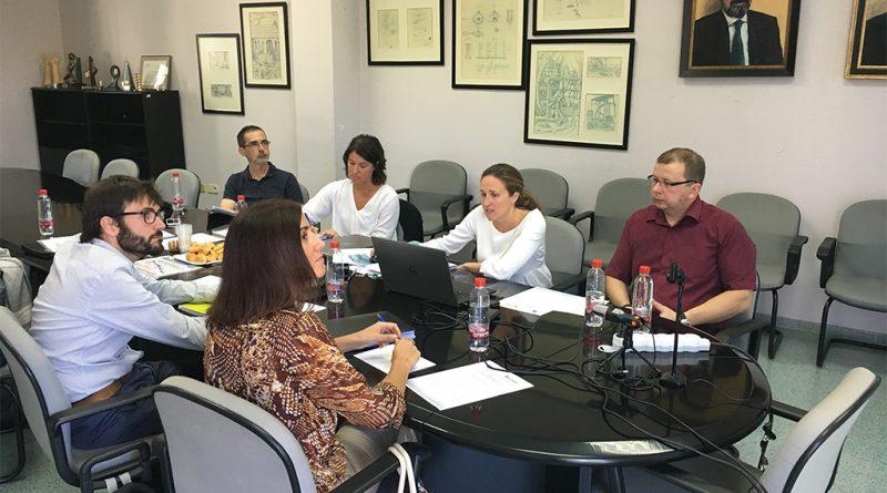 Reunión del proyecto OVOMAX celebrado en las instalaciones de AIDIMME.