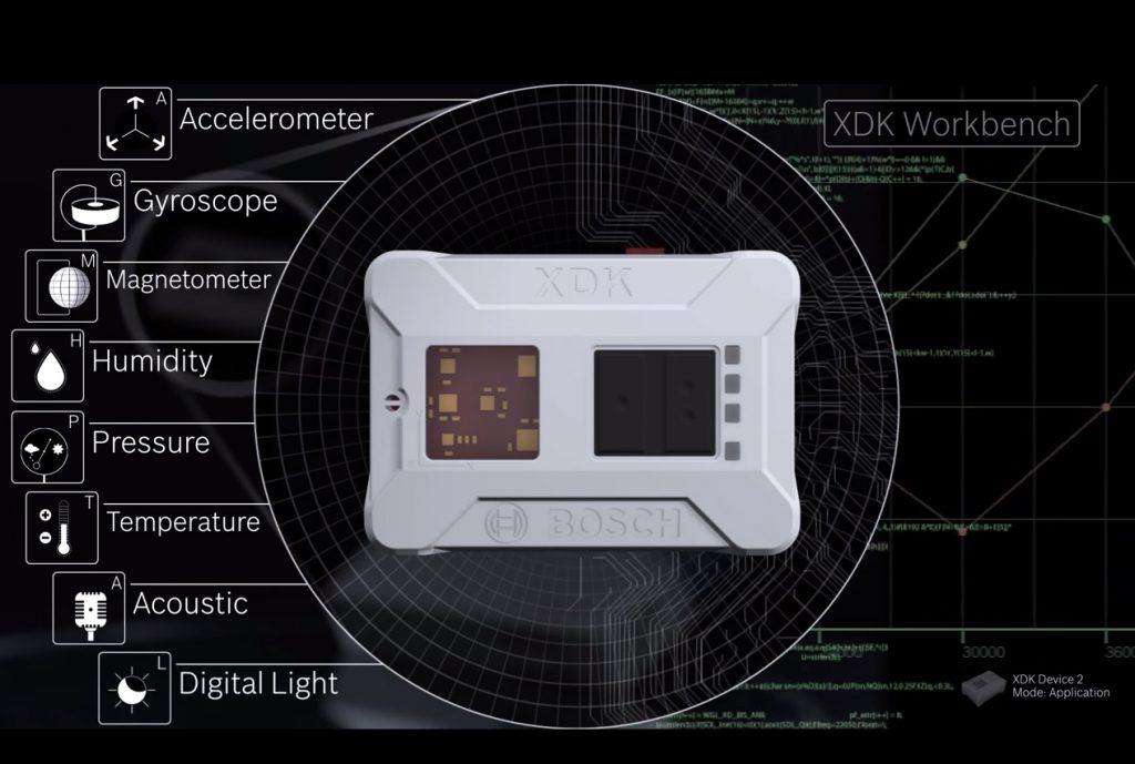 Dispositivo XDK de Boch (https://xdk.bosch-connectivity.com/home)