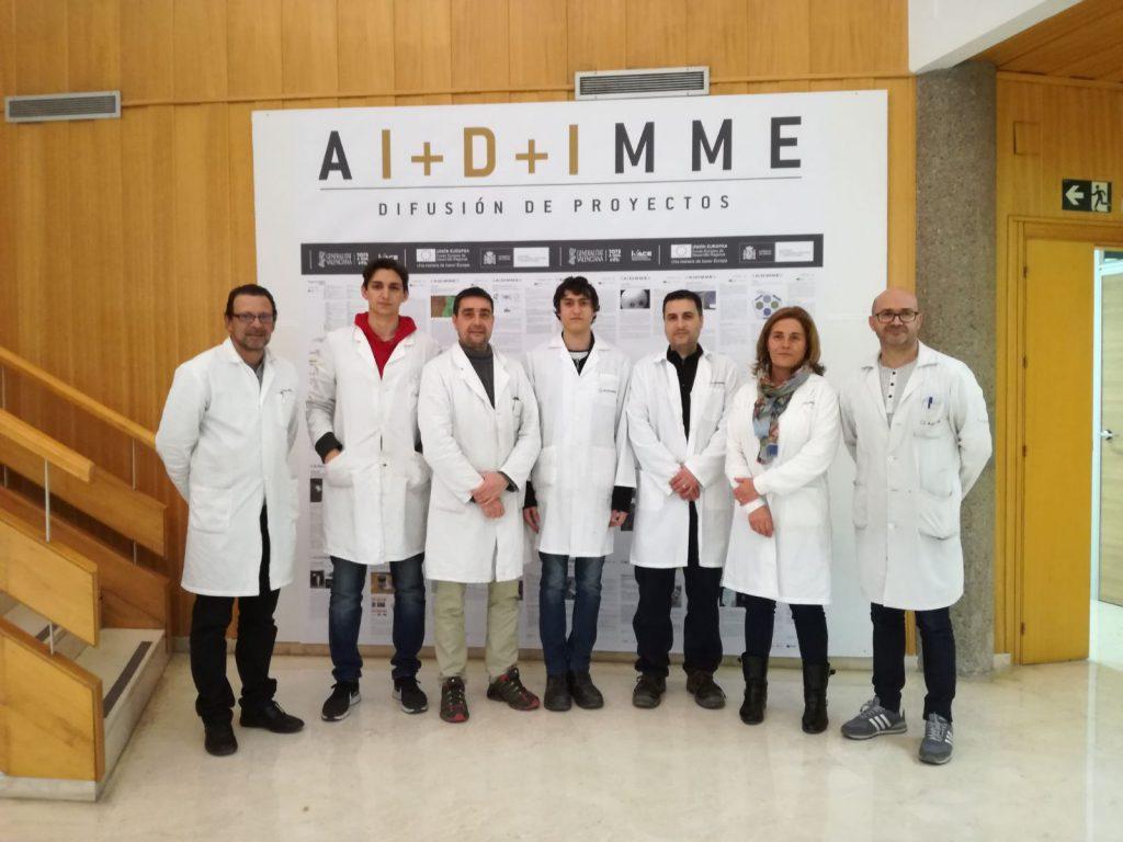 Alumnos y formadores de AIDIMME.