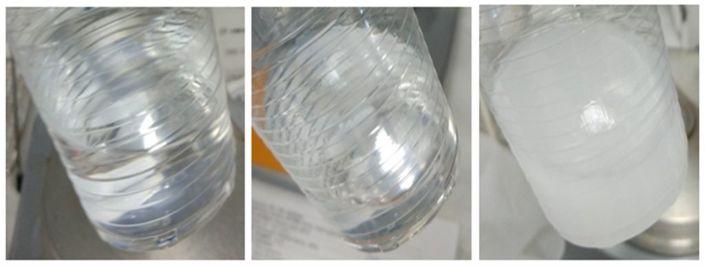 Secuencia de adición de componentes de un recubrimiento SOLGEL MADERA