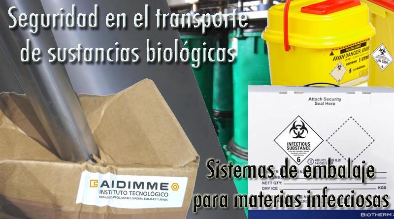 Materias infecciosas embalajes