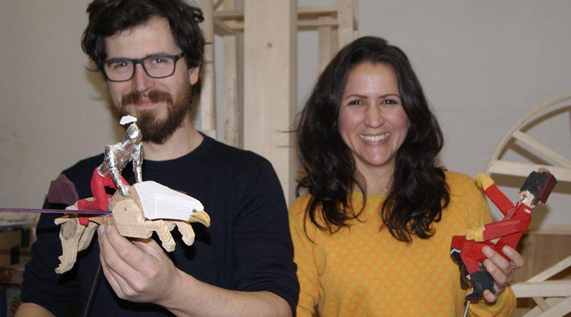 Anna Ruiz Sospreda y Giovanni Nardín