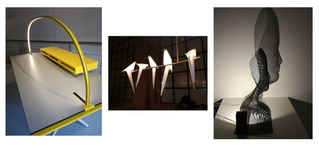 Nuevos diseños en la Feria de Euroluce.