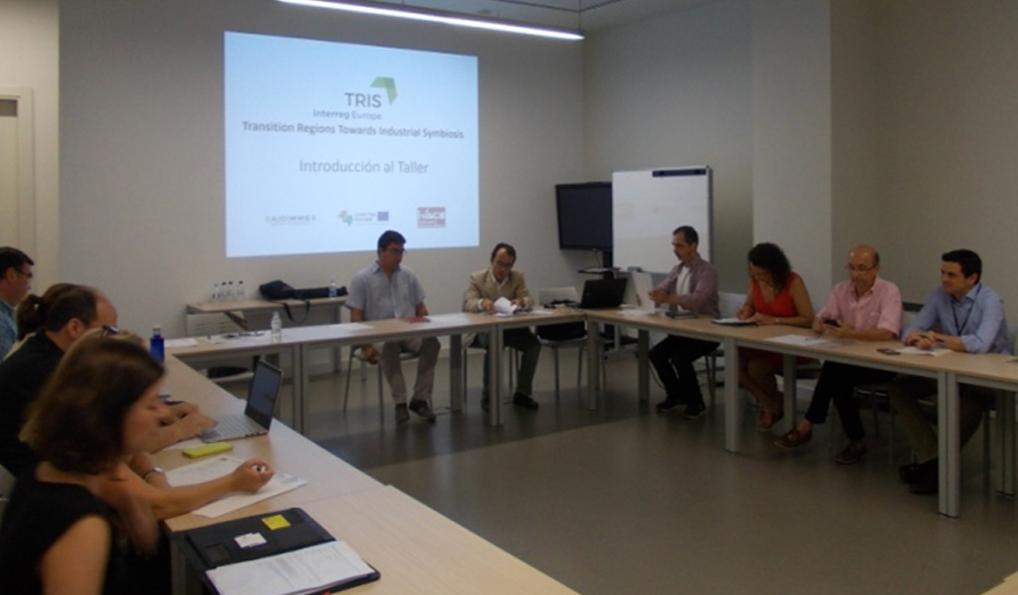 """Tercera reunión del proyecto internacional """"TRIS"""" (Transition Regions Towards Industrial Symbiosis) que se desarrolla en el marco del programa europeo Interreg Europe, con la participación de cinco regiones europeas, entre ellas la Comunitat Valenciana, representadas por IVACE y AIDIMME."""