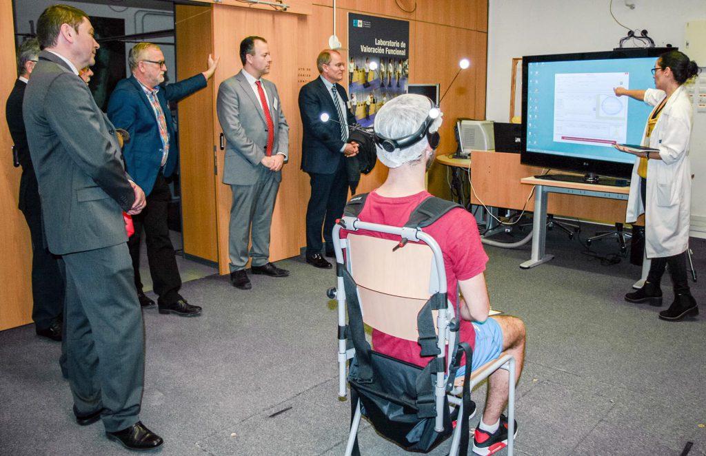Visita de los consejeros de REDIT a las instalaciones del IBV.