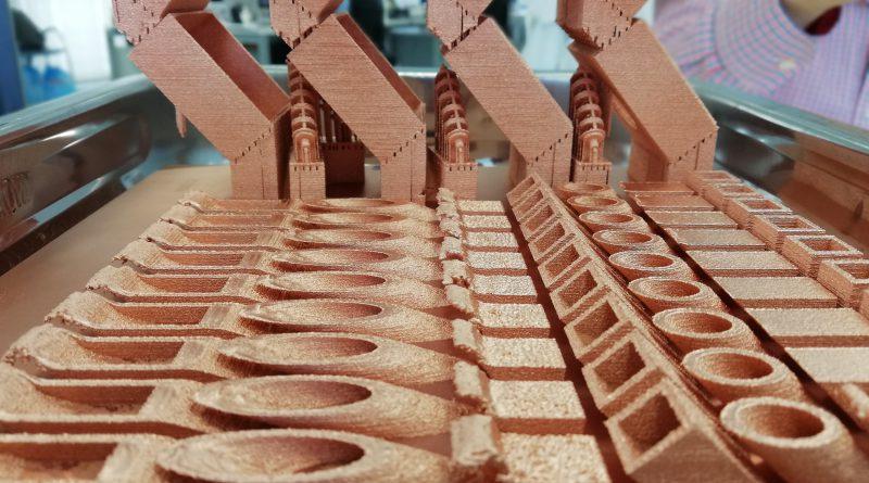 Impresión 3D Cobre