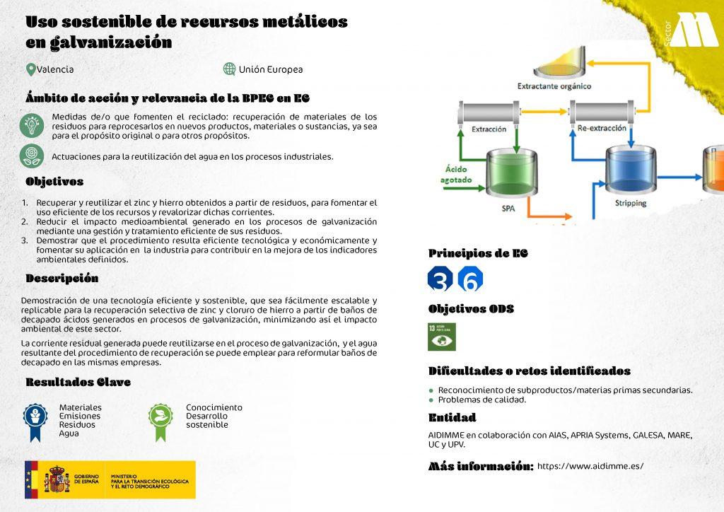 Ficha del proyecto seleccionado por el MITECO.