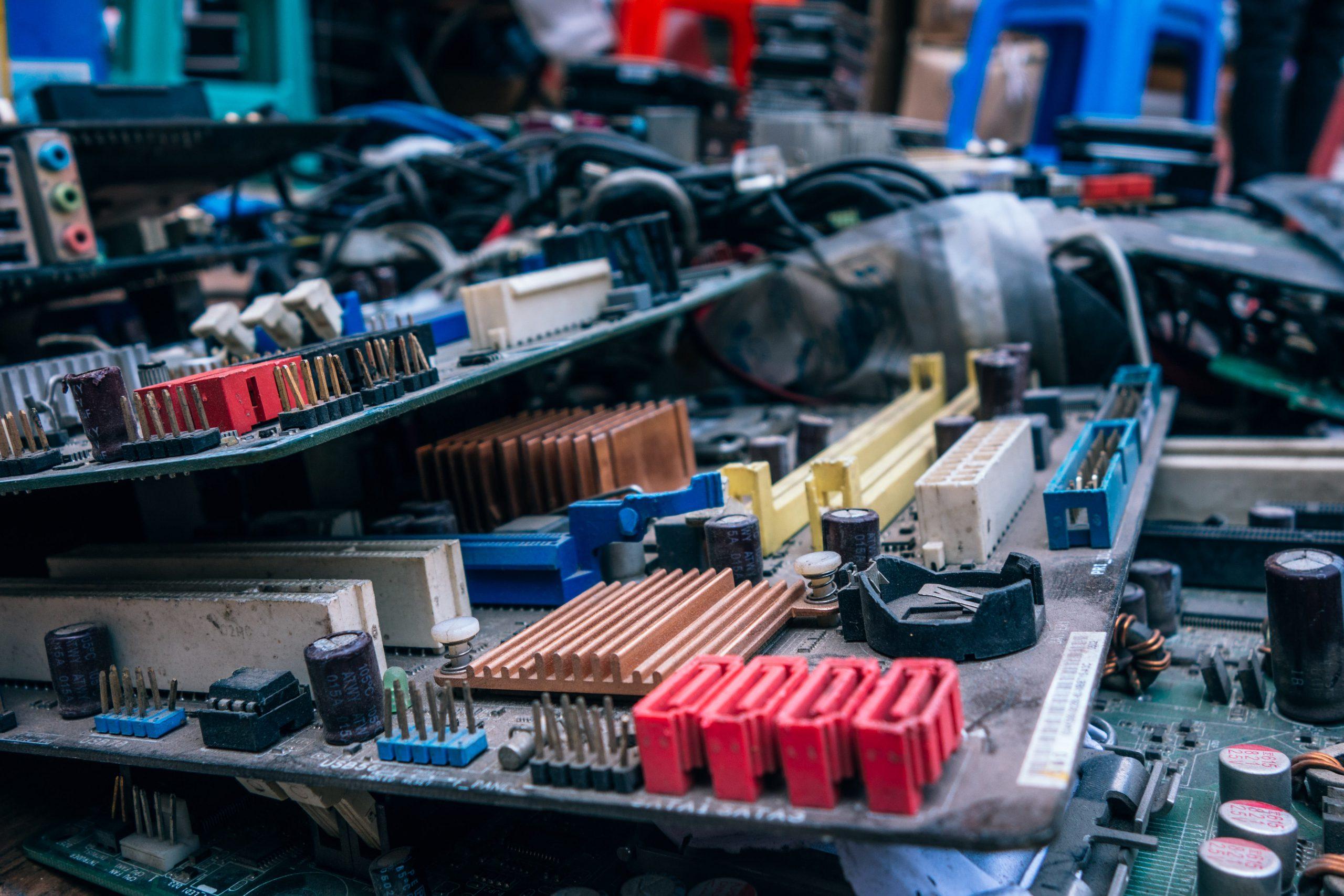 Recuperación metales residuos electrónicos
